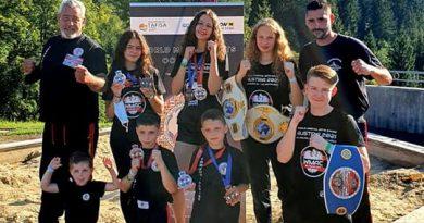 Drei neue Weltmeistertitel für Tomburg Boxing